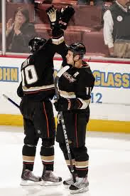 Ryan Getzlaf and Corey Perry