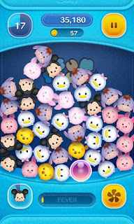 Screenshots of the Disney: Tsum tsum for Android tablet, phone.