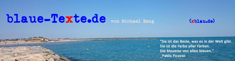xBlaue Texte von Michael Zeng