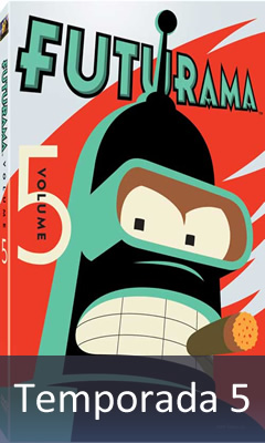 Futurama Temporada 05 Audio Latino