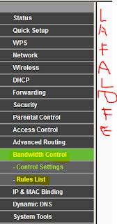 bandwith control