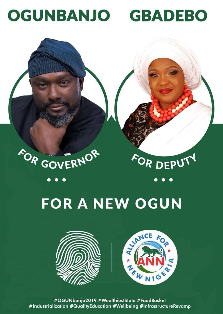 Ogun 2019: Vote Ademola Ogunbanjo as Governor