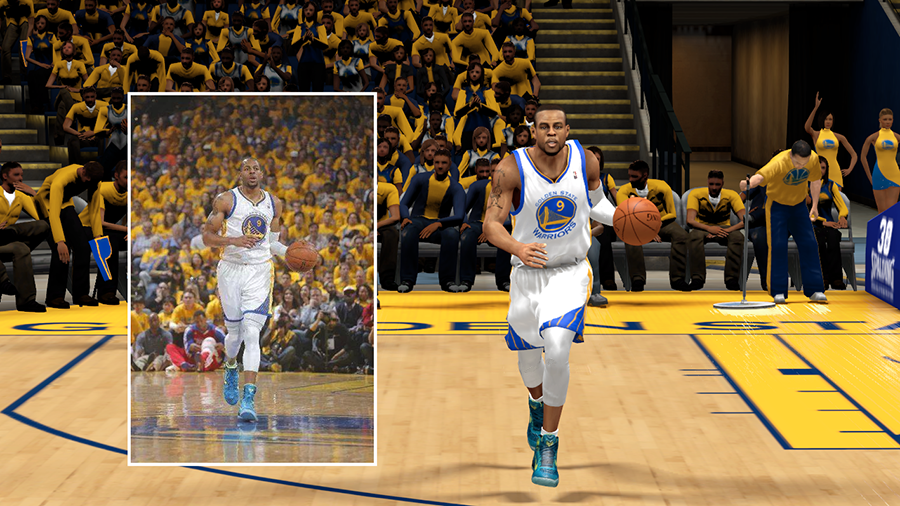 Andre Iguodala wearing Kobe 9 Perspective (Playoffs Game 3)