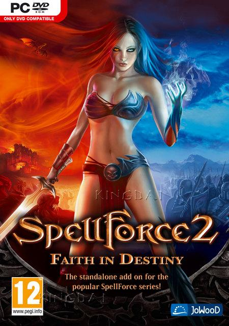 Spellforce 2: Faith in Destiny Deutsche  Menüs, Videos, Stimmen / Sprachausgabe Cover
