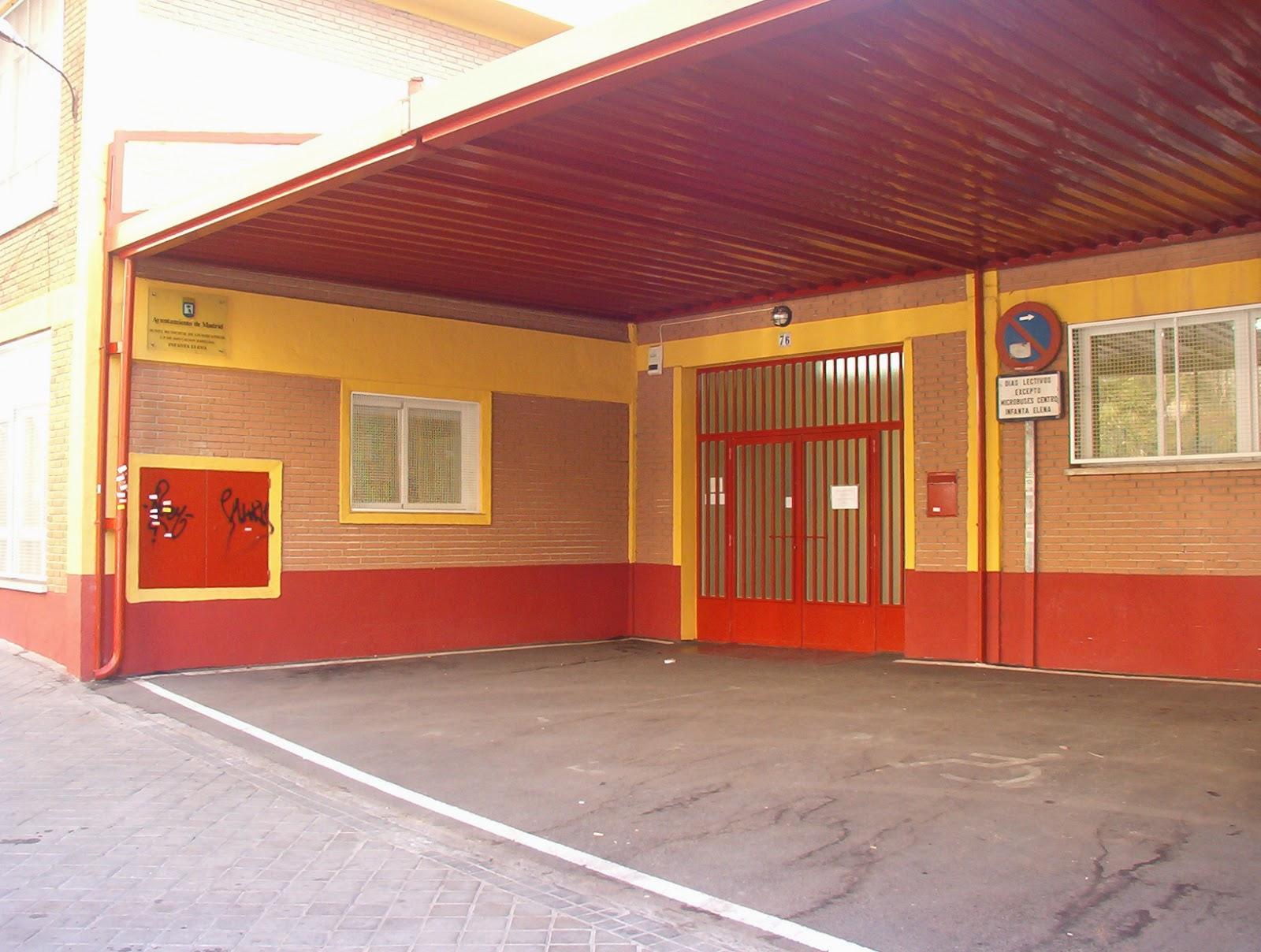 seguridad colegios Ciudad Lineal