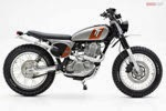 Foto Motor Yamaha SR400 Custom 2014 Modification