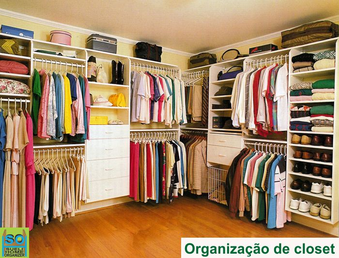 Sueli home organizer arruma o de arm rios despensas e for Ideas para closets pequenos