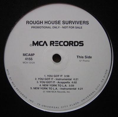 Rough House Survivers – You Got It / Bad Luck (VLS) (1998) (320 kbps)