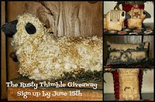 The Rusty Thimble Giveaway! Ends June 15th