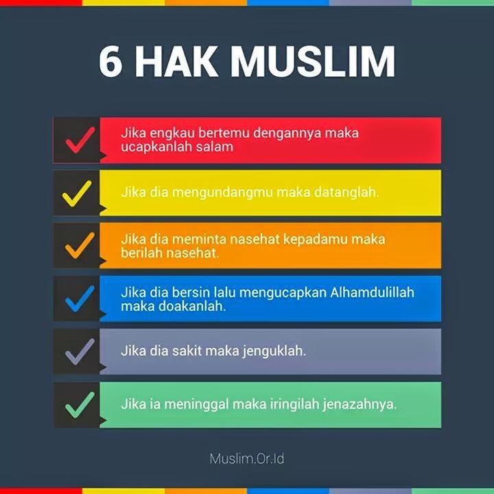 6 Hak Muslim