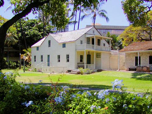 Ho Okuleana Hawaiian Mission Houses Frame House Hale