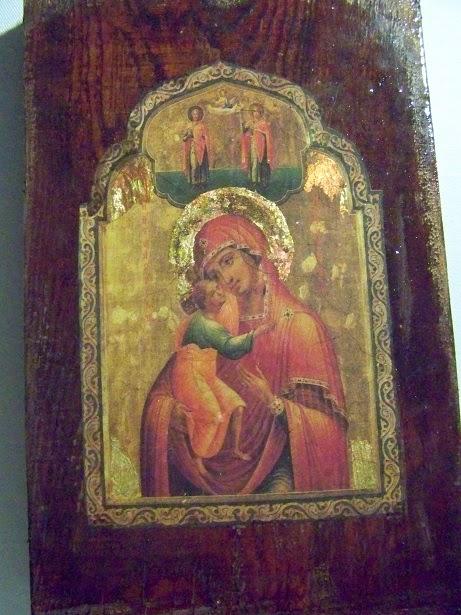 Ikona Maryja z dzieciątkiem