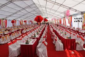 Tổ chức sự kiện Trần Gia - Cho thuê nhà dù, nhà bạt, bàn ghế tiệc