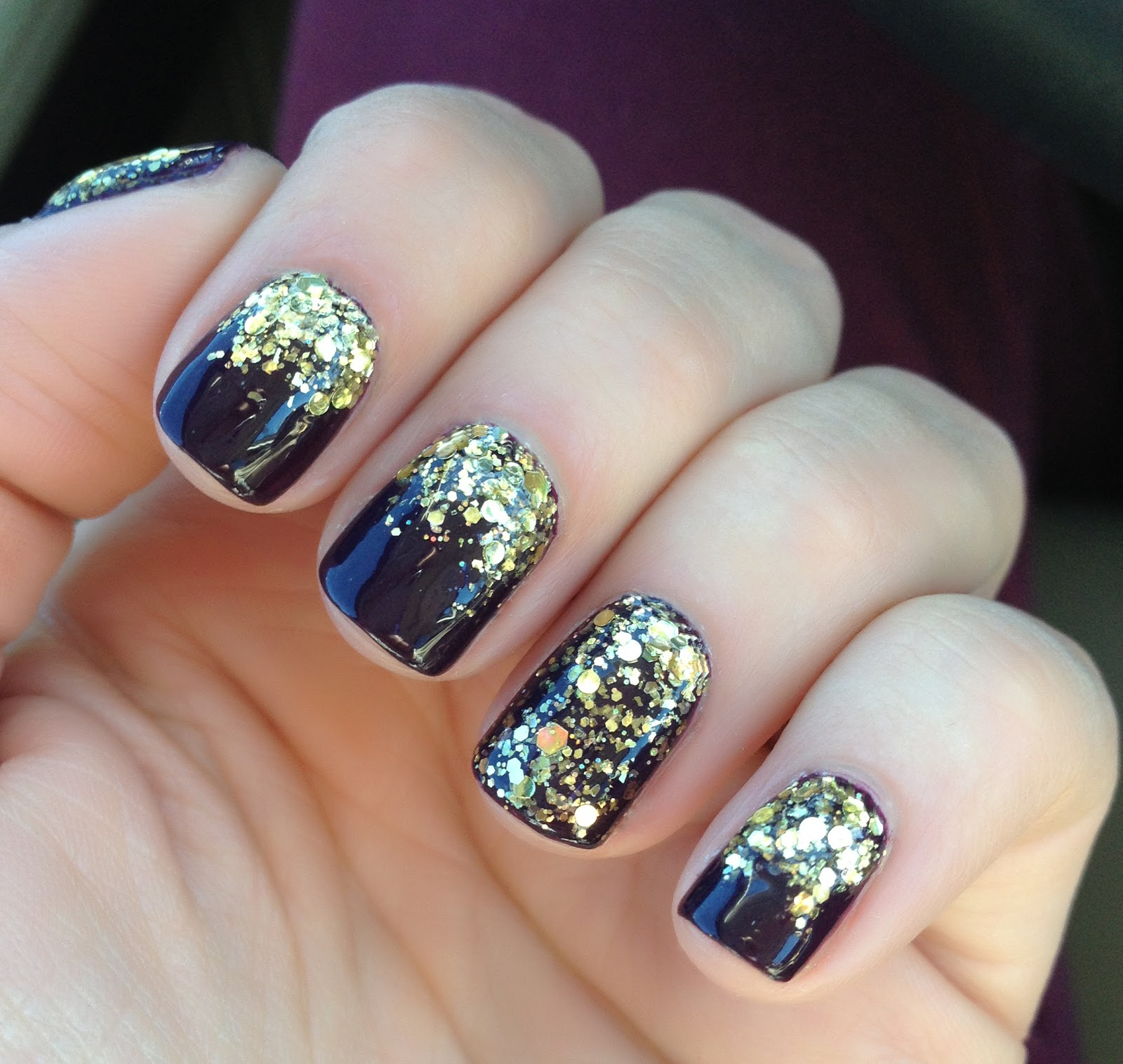 I Love Nail Polish: New Year\'s Eve Nails!
