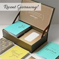 LIVE-INSPIRED GIVEAWAY