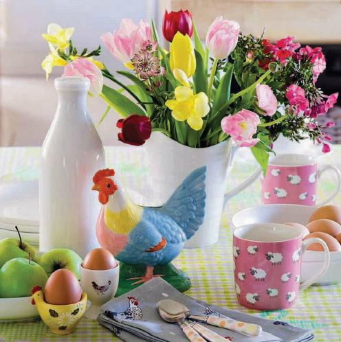 Spring decor in country style ~ Home Decorating Ideas