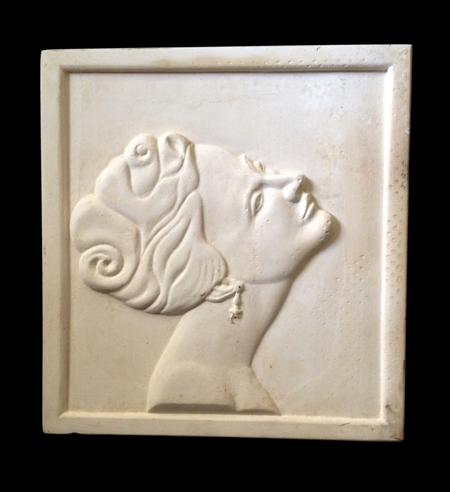 Anonymous works relief portrait