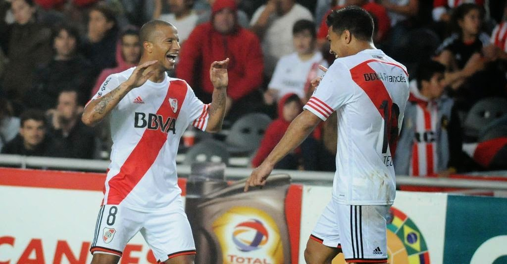 River, River Plate, Copa Sudamericana, Sudamericana, Estudiantes, Triunfo, gol, Sánchez, Sanchez,