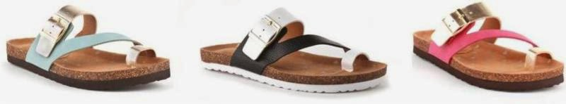 BC Footwear Collaboration with ban.do Sandals