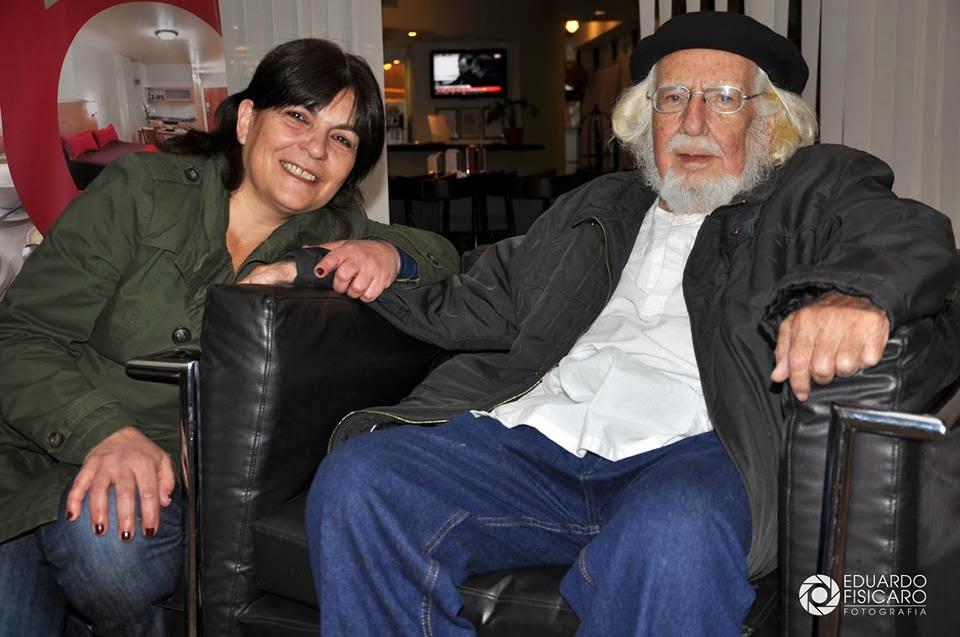 con Ernesto Cardenal