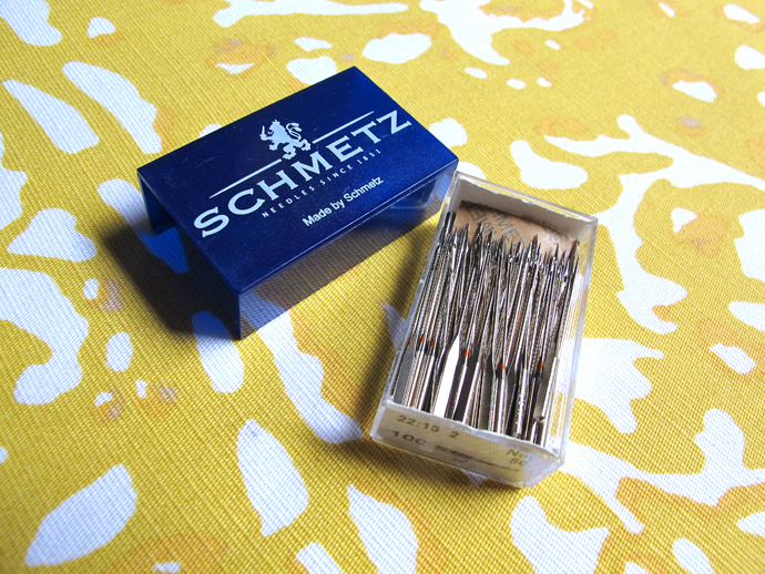 oonaballoona | a sewing blog | my favorite sewing goodies #1 | schmetz