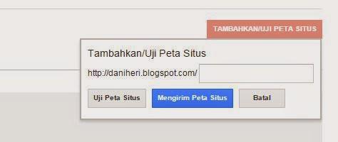membuat sitemap di webmaster