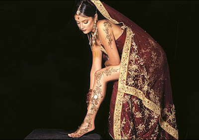 henna body paintings