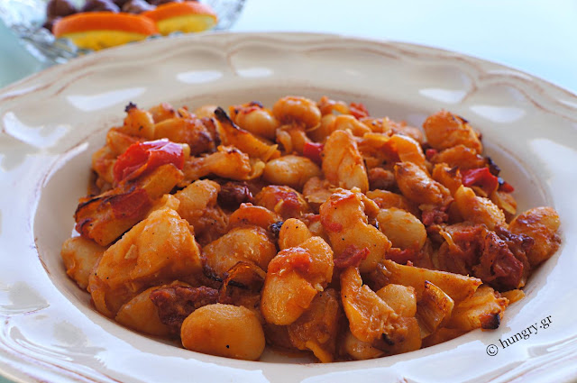 Baked Lima Beans with Tomatoes