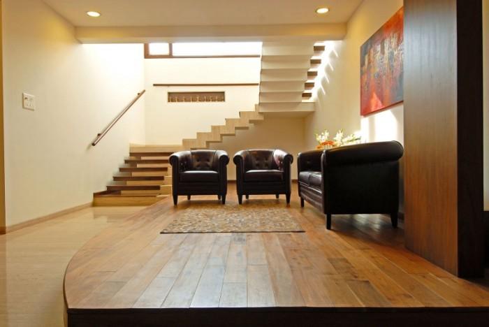 Hogares Frescos Dise O Interior De Fabuloso Duplex En