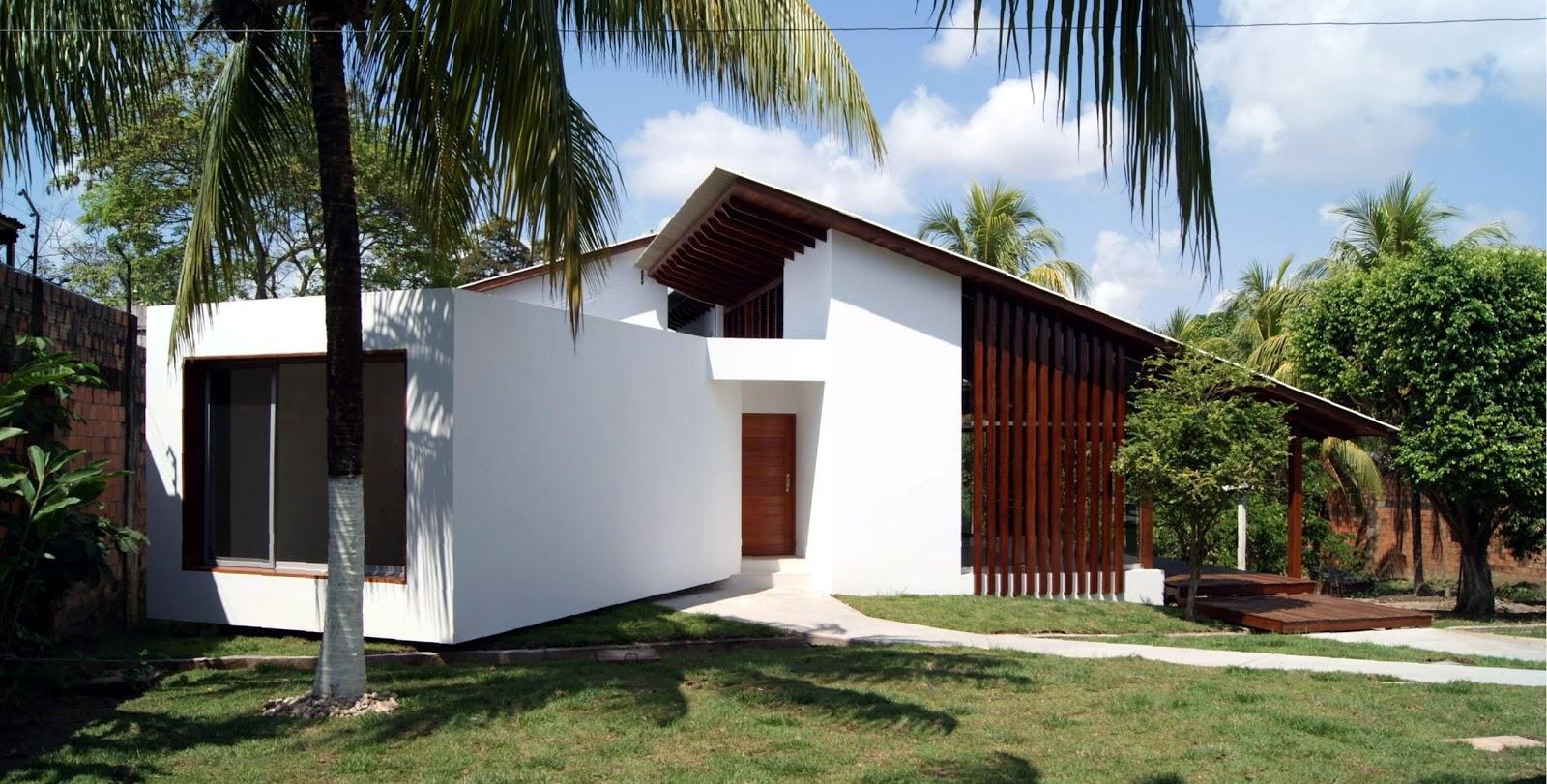 Habitar casa fv for Casa moderna a dos aguas