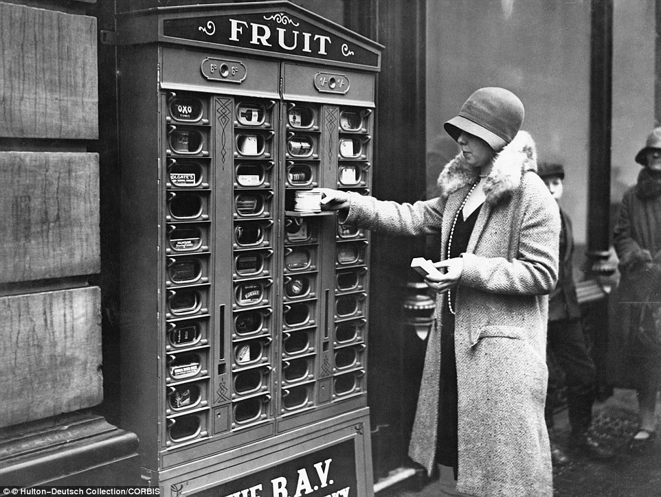Vintage Coffee Vending Machine