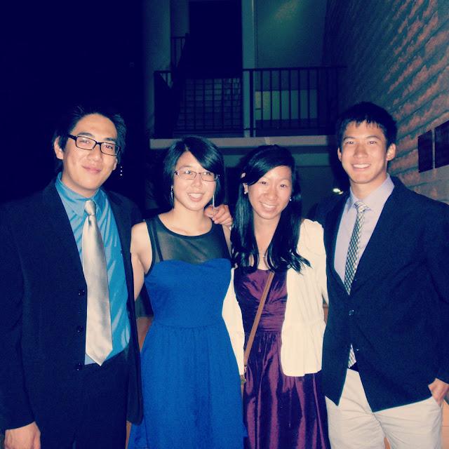 Besties-- Spring Banquet 2012
