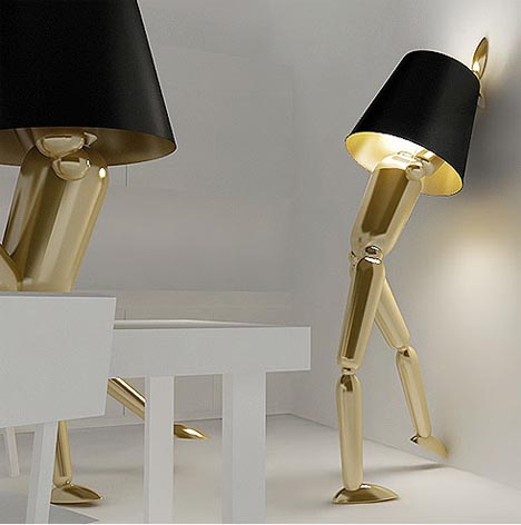 Lumiere Lighting Co New Posable Human Figure Lamps