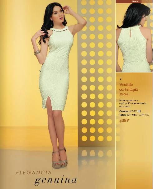 Vestido de Moda corte lapiz PV 2015