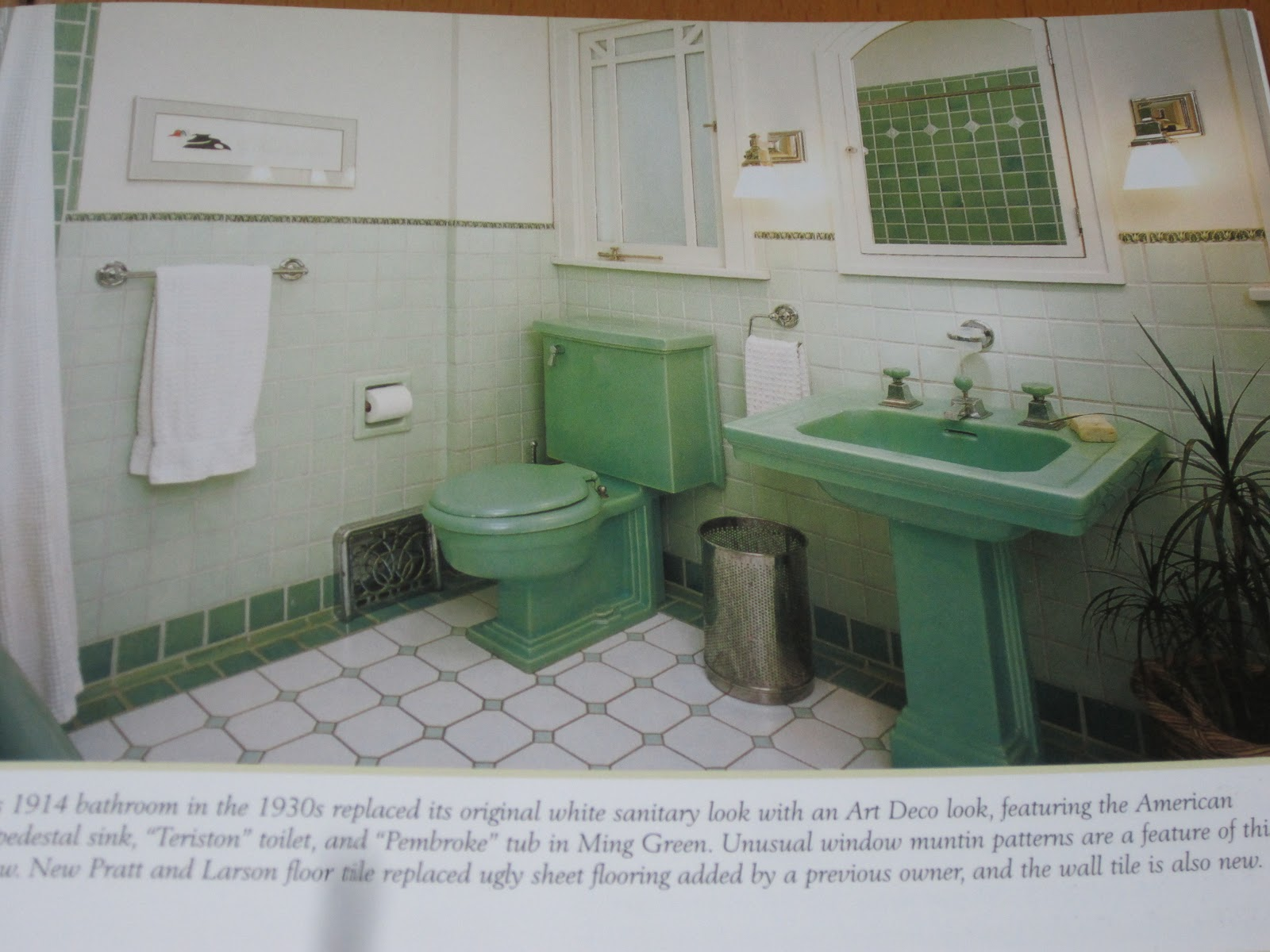 Tenant Proof Design: Bungalow Bathrooms by Jane Powell and Linda ...