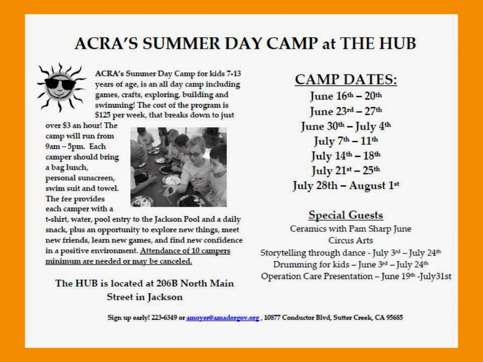ACRA Summer Day Camp - June-July 2014