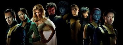 X Men First Class Cast shot.jpeg 550x202 - Logo Oficial, nueva foto de Magneto y fecha de trailer.