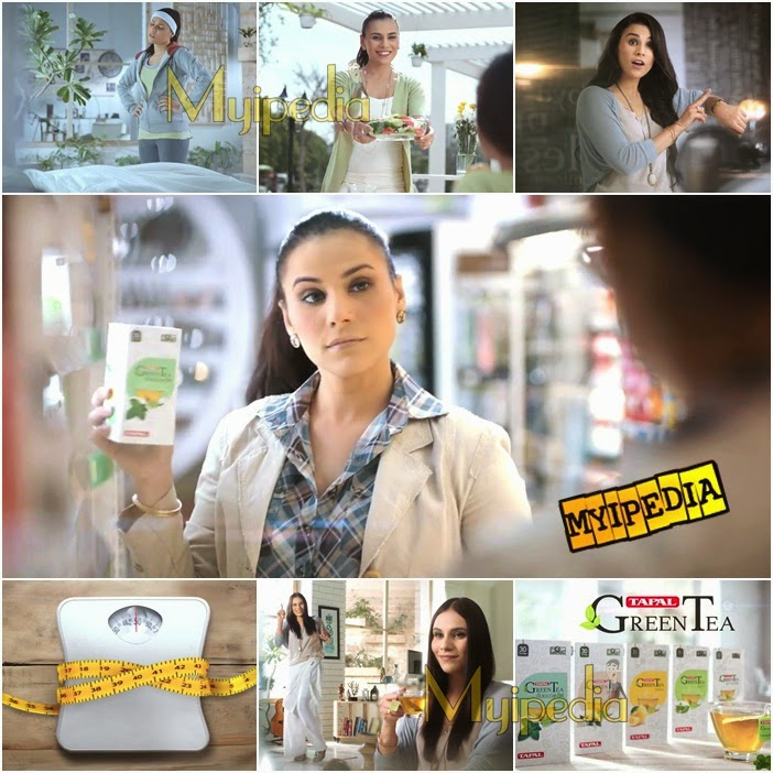 Tapal Green Tea TVC 2014 Zoe Viccaji myipedia