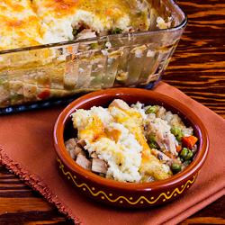 ®: Leftover Turkey (or chicken) Shepherd's Pie Casserole with Garlic ...