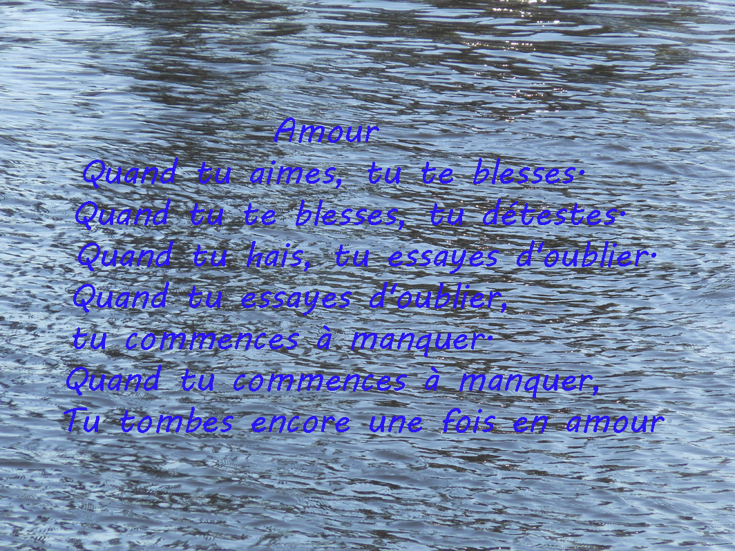 Message d 39 amour et d 39 amiti carte po me d amour - Carte d amour ...