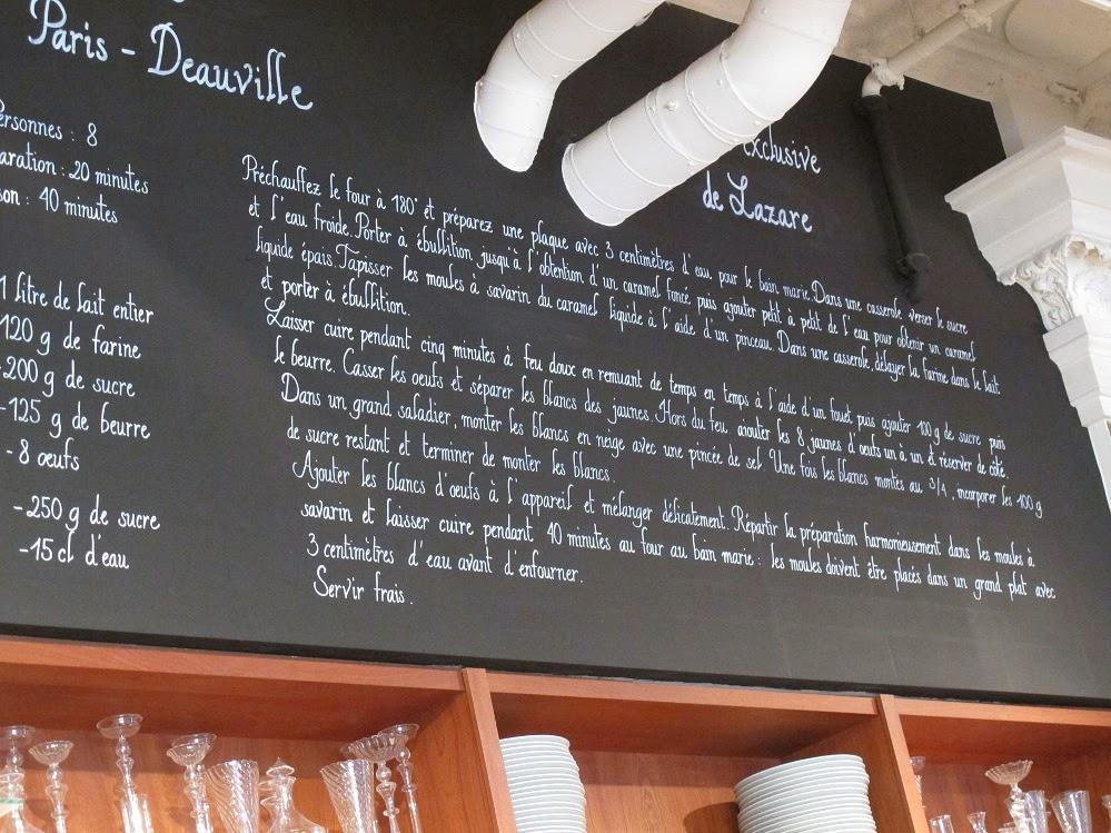 Paris-Deauville restaurant Lazare