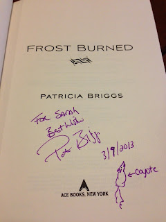 Frost Burned by Patricia Briggs (Mercy Thompson #7)