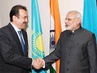 India, Kazakhstan sign five key agreements