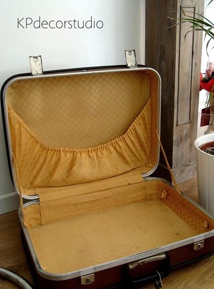 Kp tienda vintage online maleta retro marca sans n a os for Maletas antiguas online