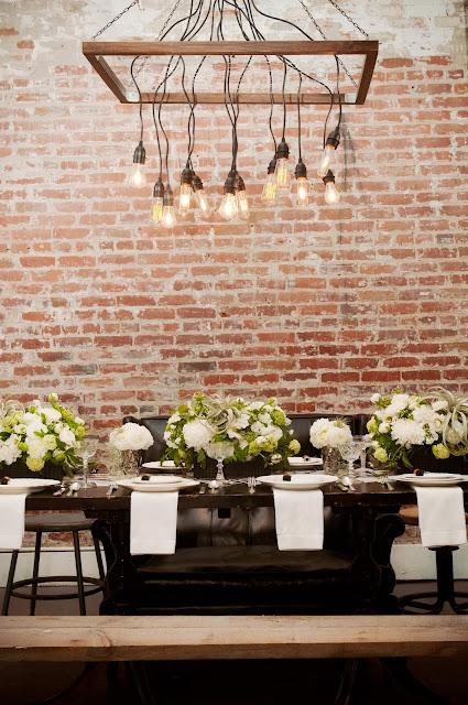 Black And White Urban Loft Wedding Heavenly Blooms