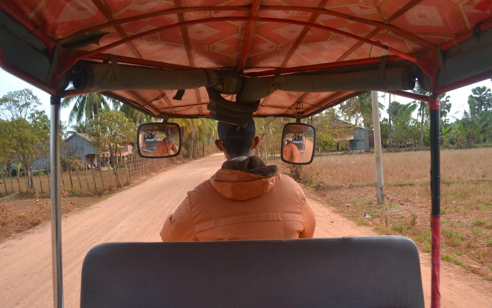 kampot kep cambodia countryside tuk tuk tour