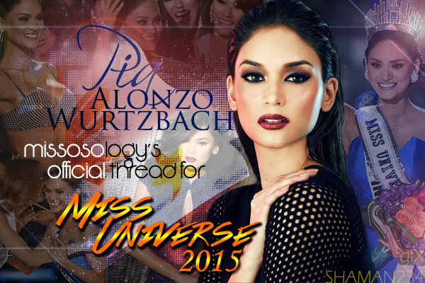 Pia Wurtzbach, Miss Universe 2015
