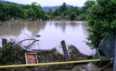 árvíz Erdélyben, árvíz, természeti katasztrófa, időjárás, Erdély, zivatar, jégeső,
