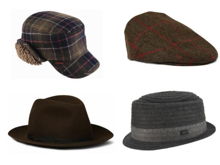 Versión de invierno de los mismos sombreros.