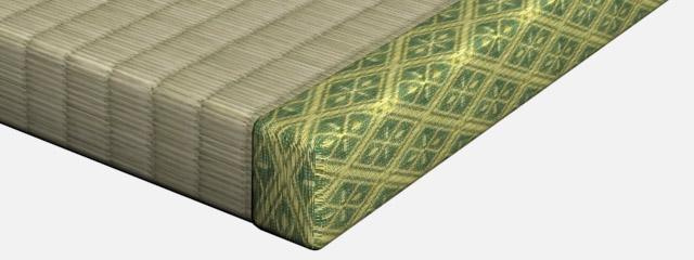 畳縁 (たたみふち) - tatami mat
